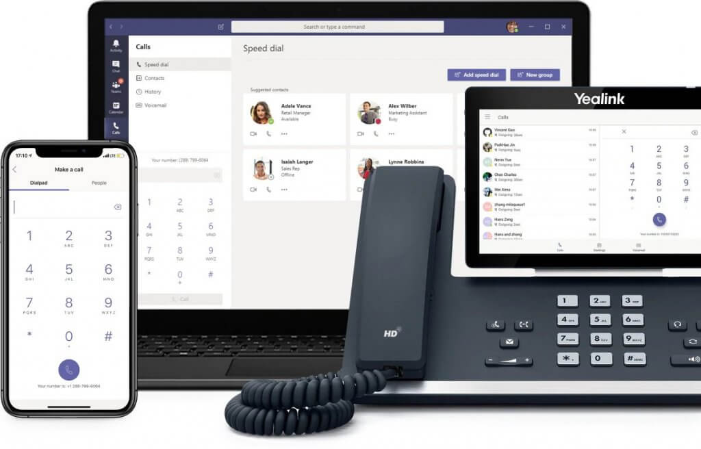 business voice on any device